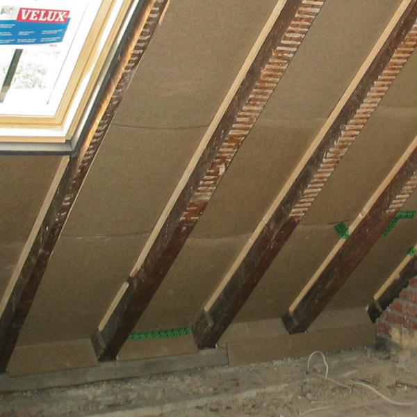 Dachboden-Dämmung
